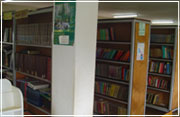 The school library.